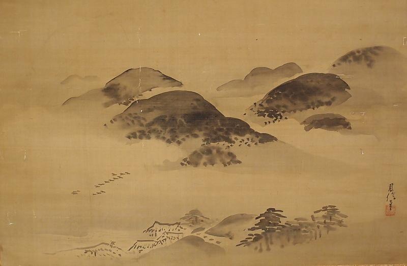 Kanō Chikanobu b