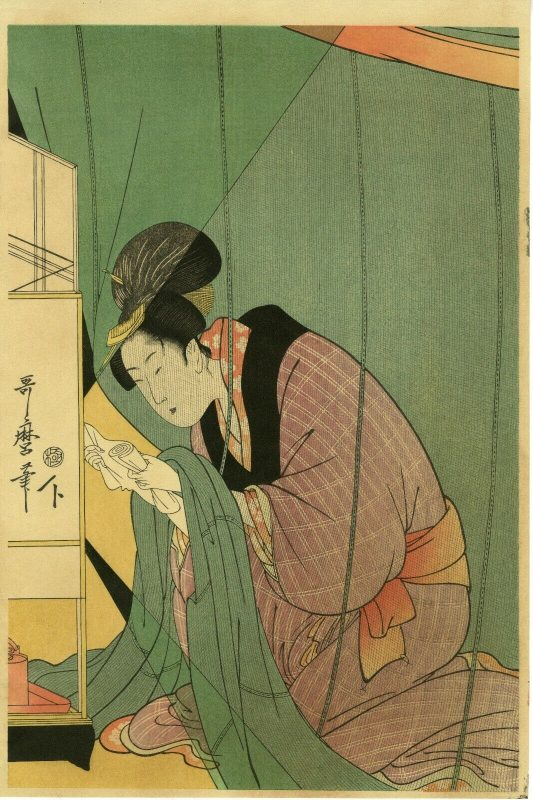 Utamaro-Beauty-in-Mosquito-Net A