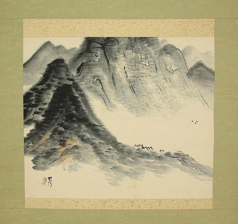 Yazawa Gengetsu (1886~1952) b